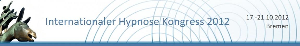 Vortrag beim Int. Hypnosekongress in Bremen